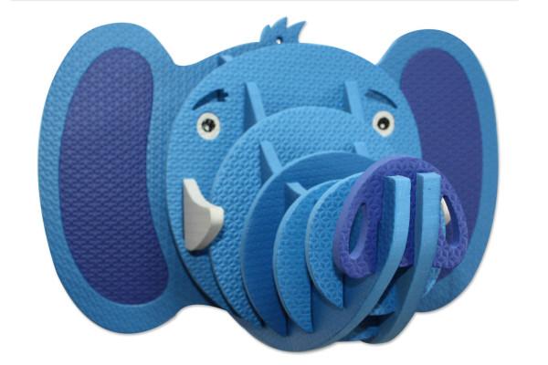 1--Puzzle Elephant